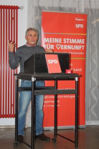 OV-Vorsitzender Othmar Röhner bei seinem Grußwort