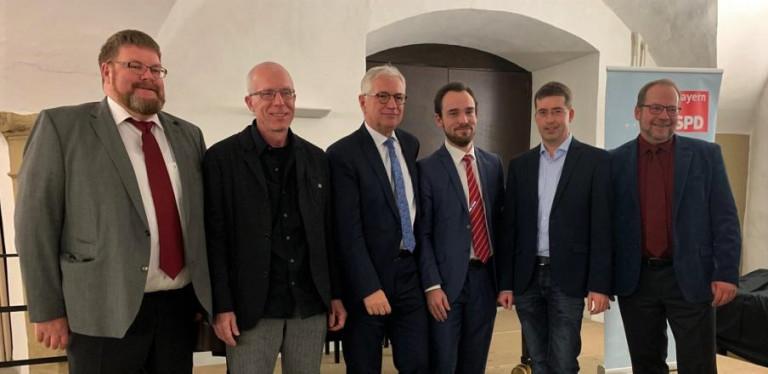 Unsere Bürgermeisterkandidaten beim Neujahrsempfang in Kitzingen